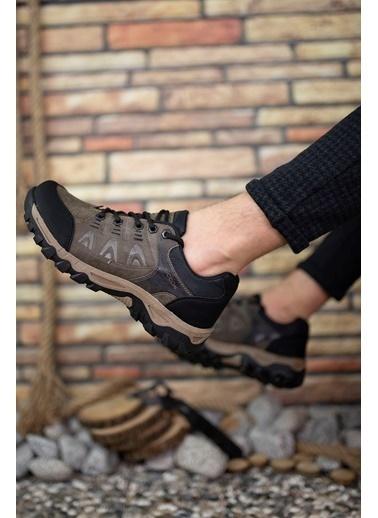 Riccon Haki Erkek Trekking Ayakkabı 00127053 Vizon